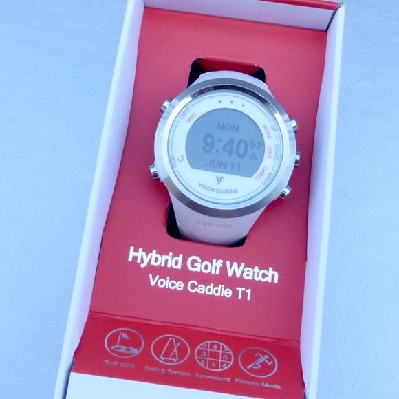 Voice Caddie T1 GPS Hybrid Golf Watch